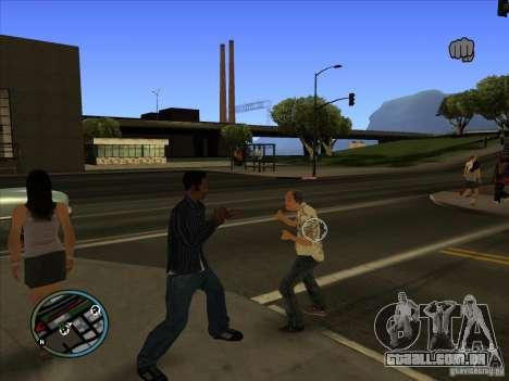 GTA IV TARGET SYSTEM 3.2 para GTA San Andreas terceira tela