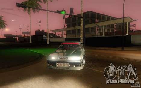 Toyota Soarer GZ20 para vista lateral GTA San Andreas