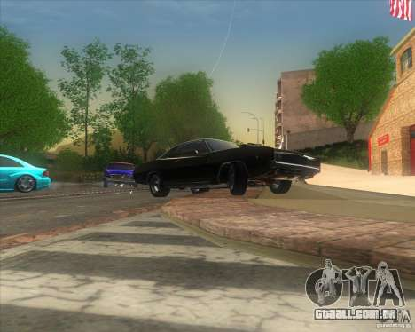 Dodge Charger RT 1968 para GTA San Andreas vista direita