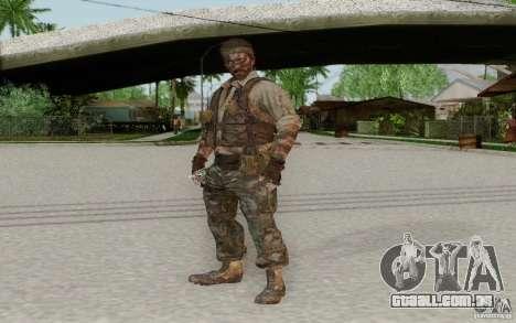 Frank Woods para GTA San Andreas