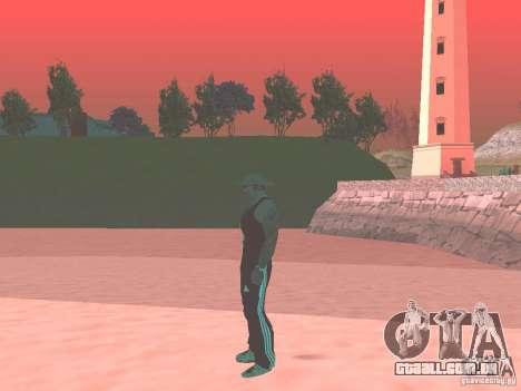 Escolher qualquer clima para GTA San Andreas quinto tela