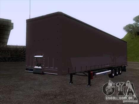 Reboque artict1 para GTA San Andreas traseira esquerda vista