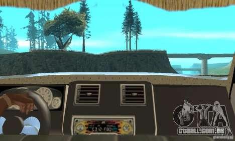 ZIL 433112 com tuning para GTA San Andreas vista direita