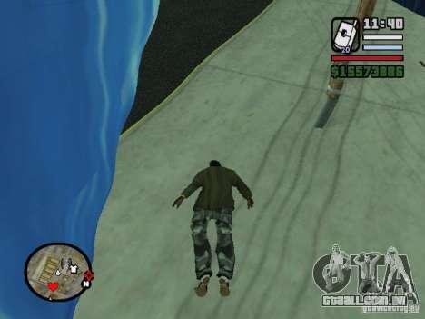 Tsunami para GTA San Andreas por diante tela
