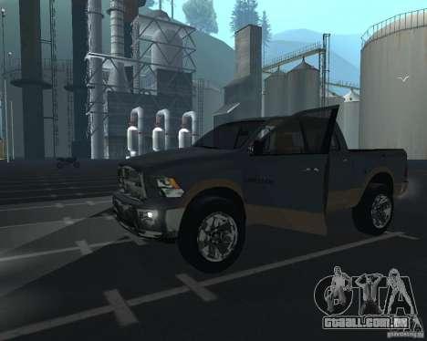 Dodge Ram Hemi para GTA San Andreas esquerda vista