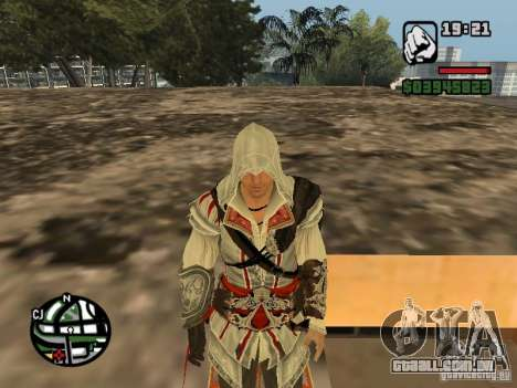 Ezio auditore de Firenze para GTA San Andreas