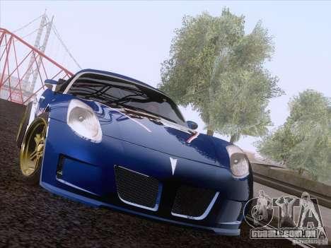 Pontiac Solstice Redbull para GTA San Andreas esquerda vista