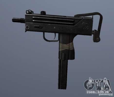 MAC10 para GTA San Andreas terceira tela