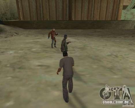 Barney sem-teto para GTA San Andreas terceira tela