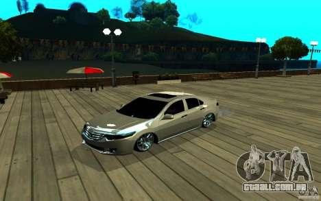 ENB para qualquer computador para GTA San Andreas quinto tela