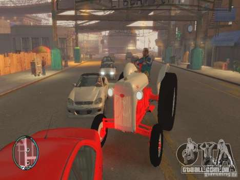 Ford 8N para GTA 4 traseira esquerda vista