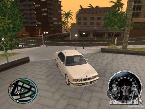BMW E34 540i para GTA San Andreas vista direita