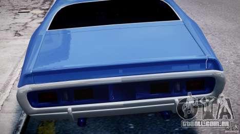 Dodge Charger RT 1971 v1.0 para GTA 4 motor