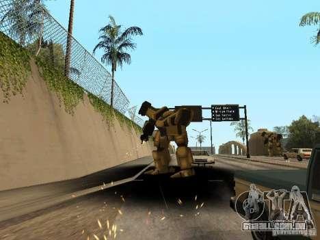 Transformadores para GTA San Andreas terceira tela