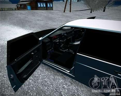 VAZ 2109 Tuning para GTA San Andreas vista traseira