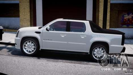 Cadillac Escalade Ext para GTA 4 vista de volta