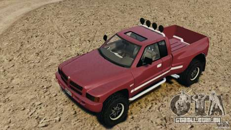 Dodge Ram 2500 Army 1994 v1.1 para GTA 4 vista lateral