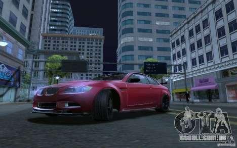 ENBSeries by RAZOR para GTA San Andreas segunda tela