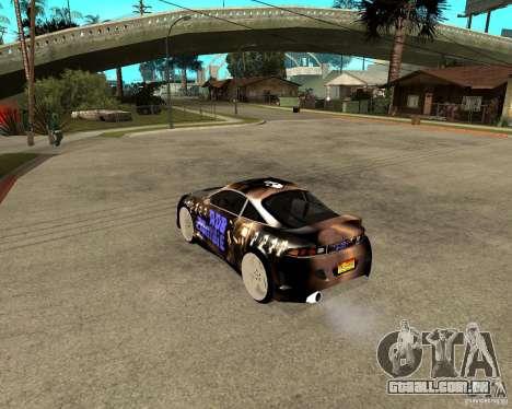 Mitsubishi Eclipse RZ 1998 para GTA San Andreas esquerda vista