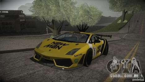 Lamborghini Gallardo LP560-4 GT3 para o motor de GTA San Andreas