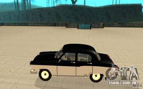 Black Lightning para GTA San Andreas segunda tela