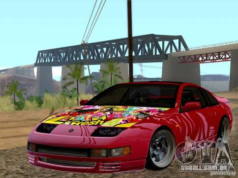 Nissan 300ZX JDM para GTA San Andreas