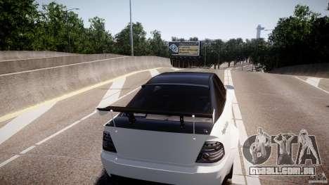 Sultan RS 3.0 para GTA 4 vista de volta