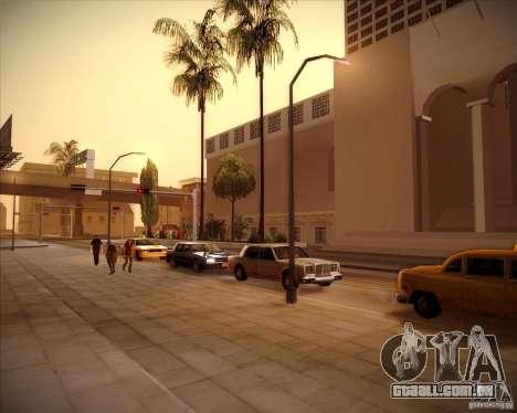 Novas texturas da prefeitura para GTA San Andreas por diante tela