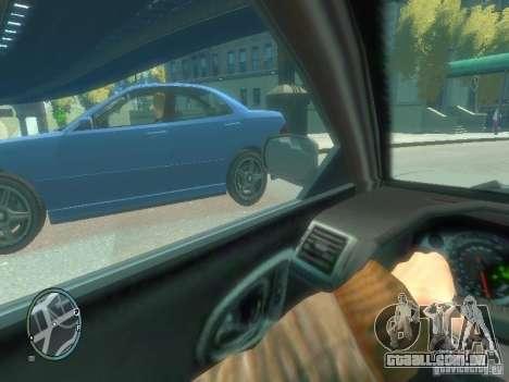 Tipo de carro para GTA 4 por diante tela