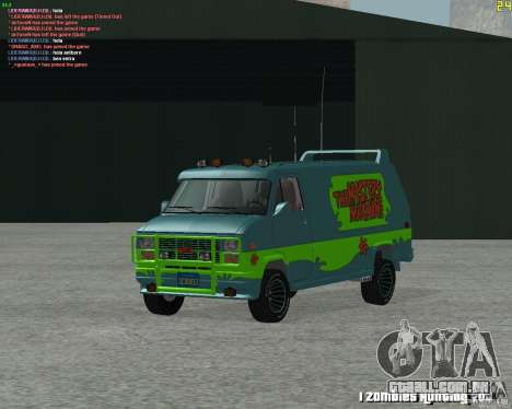 GMC Van 1983 para GTA San Andreas esquerda vista