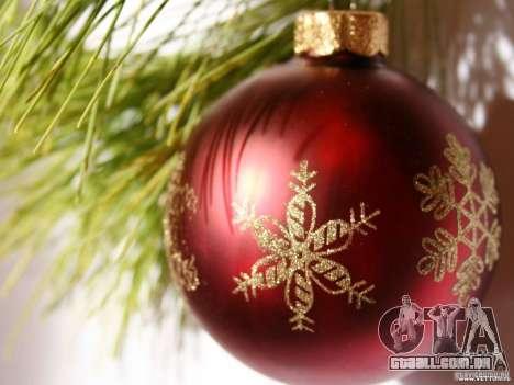 Natal bota clip-art para GTA San Andreas por diante tela