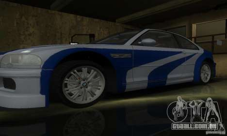 BMW M3 Tuneable para GTA San Andreas