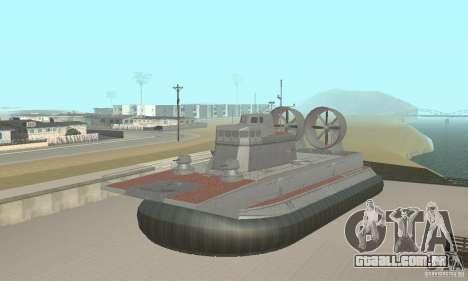 Hovercraft para GTA San Andreas