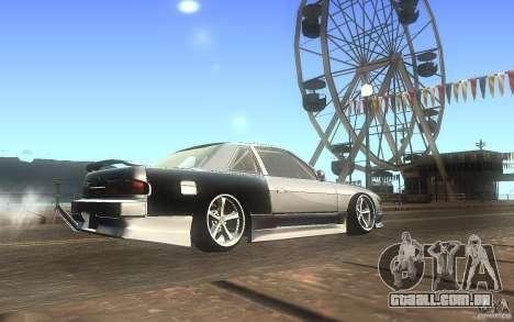 Nissan Silvia S13 Odyvia para GTA San Andreas vista direita