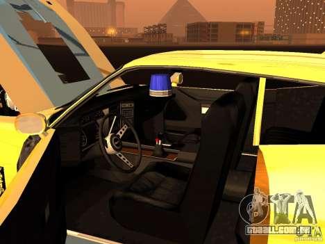 Ford Falcon XB Coupe Interceptor para GTA San Andreas vista interior