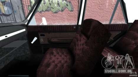 Peykan 1348 1970 para GTA 4 vista interior
