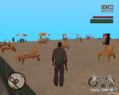 CJ-prefeito para GTA San Andreas terceira tela