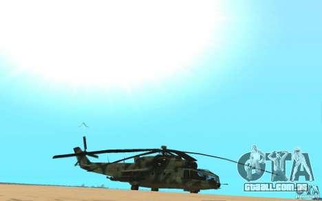 MI-24A para GTA San Andreas vista direita