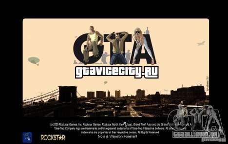 GTAViciCity.RU LoadScreens para GTA San Andreas
