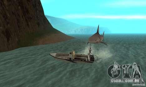 Shark Killer para GTA San Andreas terceira tela