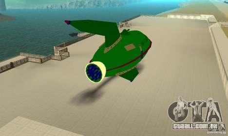 Planet Express para GTA San Andreas vista direita