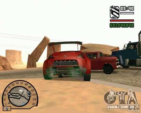 Nissan 370Z Undercover para GTA San Andreas vista direita