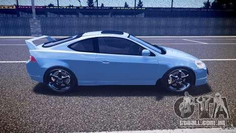 Acura RSX TypeS v1.0 Volk TE37 para GTA 4 vista interior