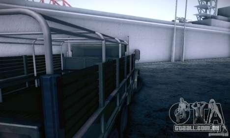 Barracks HD para GTA San Andreas vista direita