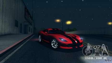 Dodge SRT Viper GTS 2012 V1.0 para as rodas de GTA San Andreas