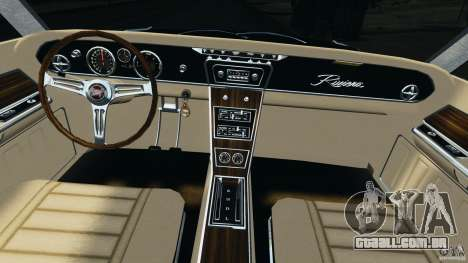 Buick Riviera 1966 v1.0 para GTA 4 vista de volta