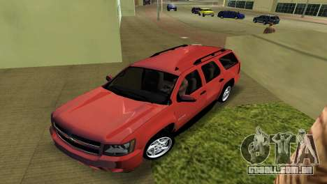 Chevrolet Tahoe 2011 para GTA Vice City deixou vista