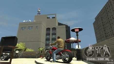 The Lost and Damned Bikes Lycan para GTA 4 traseira esquerda vista