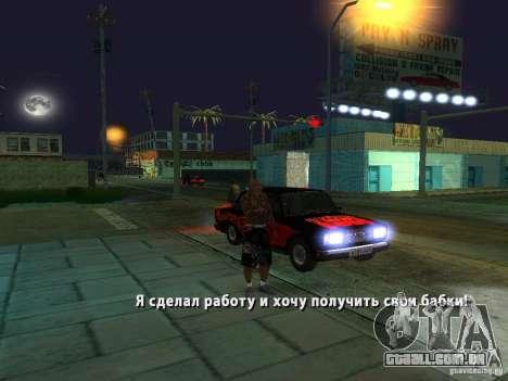Killer Mod para GTA San Andreas sétima tela