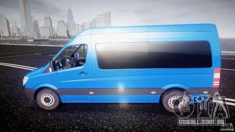 Mercedes-Benz ASM Sprinter Ambulance para GTA 4 esquerda vista